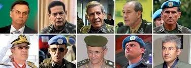 Militares linha-dura, intervenção e genocídio