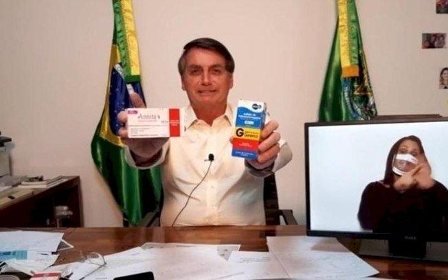 Depois de cloroquina, Bolsonaro divulga vermífugo para tratar Covid-19