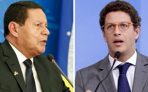 """Em entrevista à Globo, Ricardo Salles chama Mourão de """"presidente"""""""