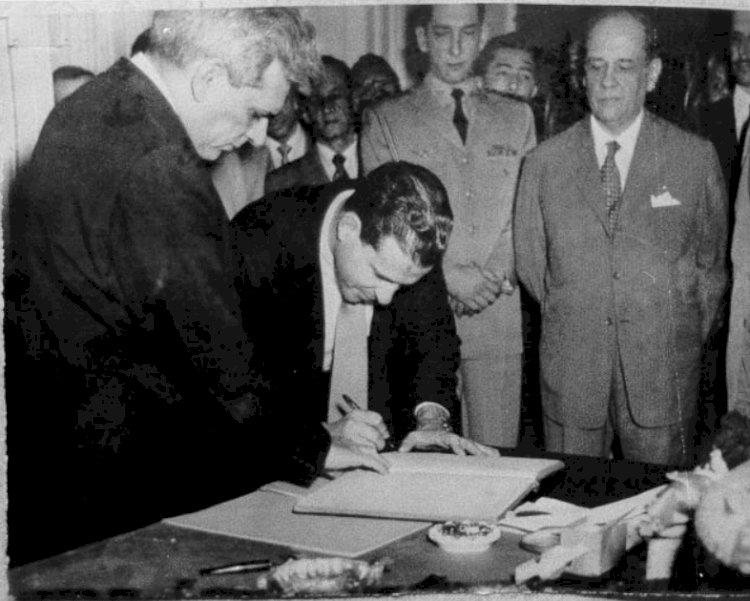 """""""Não tenho outros compromissos senão com o povo"""", disse Jango, em 1953, na posse como ministro do Trabalho"""