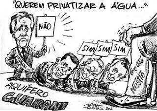Privatização da água põe Ciro entre Brizola e Bolsonaro