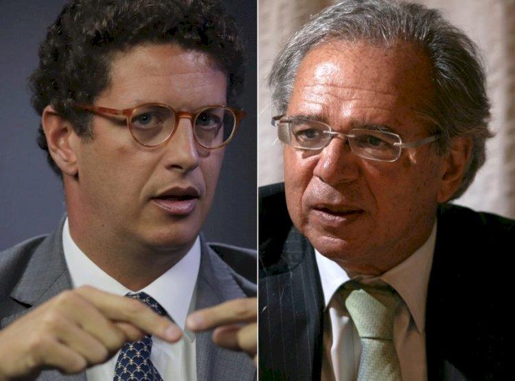 Como Paulo Guedes ajuda Salles a devastar o Brasil