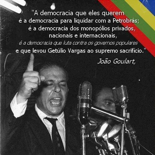 João Vicente Goulart: Não é hora de comemorar