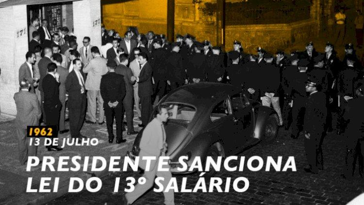 Instituto Lula: há 58anos,Jango sanciona a lei do 13º salário