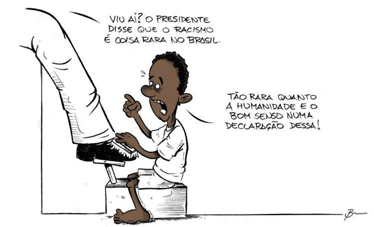 Bolsonaro causa constrangimento e envergonha Brasil no G20 ao negar racismo