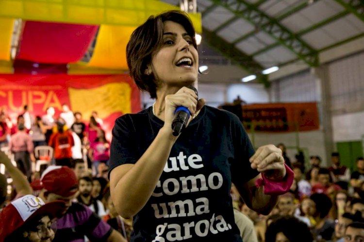 Mulheres do PCdoB, PT, PDT, Rede e Psol se solidarizam com Manuela