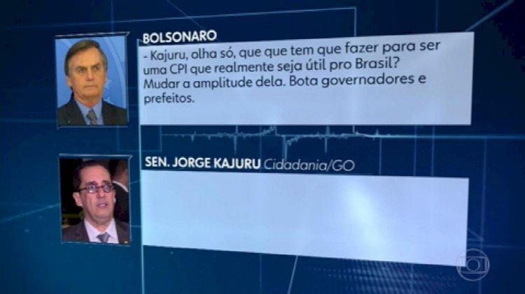 """Bolsonaro chama Randolfe de """"bosta"""" e fala em """"sair na porrada"""" com o senador"""