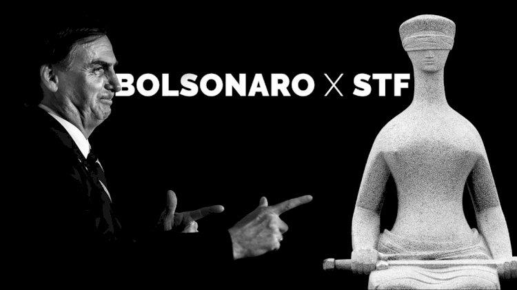 """Bolsonaro ameaça STF, cita """"interferência"""" de Barroso e diz que aguarda """"sinalização do povo"""" para tomar """"providências"""""""