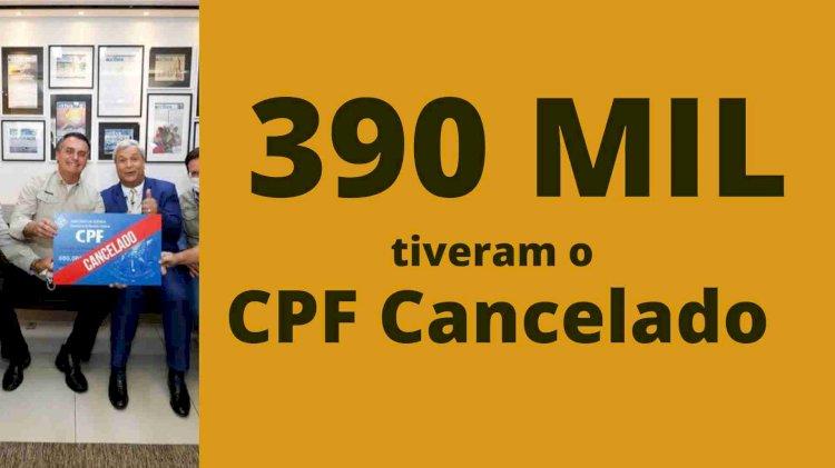 """País tem quase 400 mil mortos e Bolsonaro brinca com """"CPF cancelado"""""""