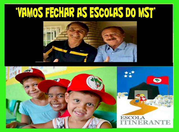 Bolsonaro ameaça acabar com escolas de Sem Terrinhas em live:
