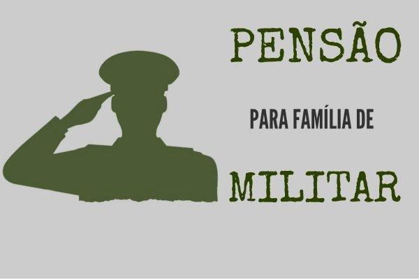 As pensões e os bilhões da família militar