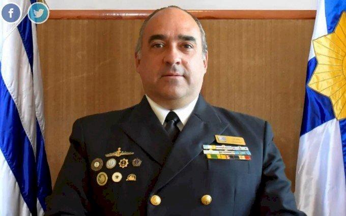 Comandante da Marinha será preso por indisciplina, no Uruguai