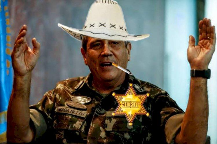 Só tem eleição no Brasil se o Braga Netto deixar