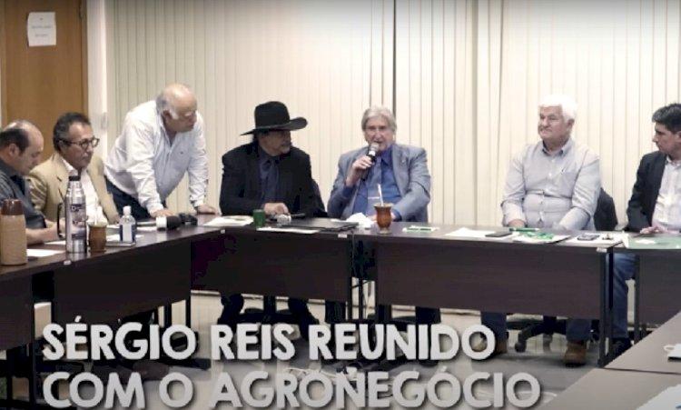 "O ""sertanojo"" Sérgio Reis faz terrorismo. Altamiro Borges"