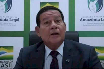 Bolsonaro descarta Mourão da delegação da COP26