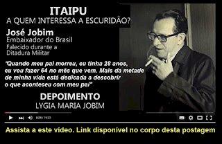 VíDEO:  ITAIPU, a quem interessa a escuridão