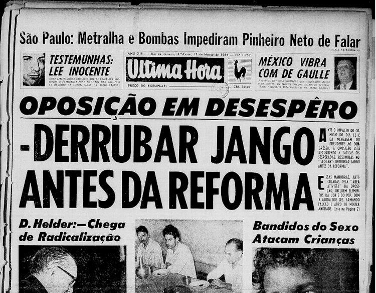 Em homenagem à ditadura, Bolsonaro veta nome de Jango para rodovia